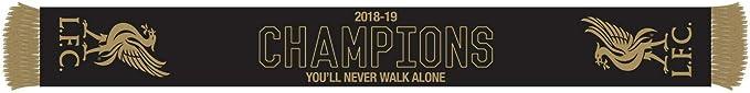 47 Brand Scarf FC Liverpool Champions League 2019 black