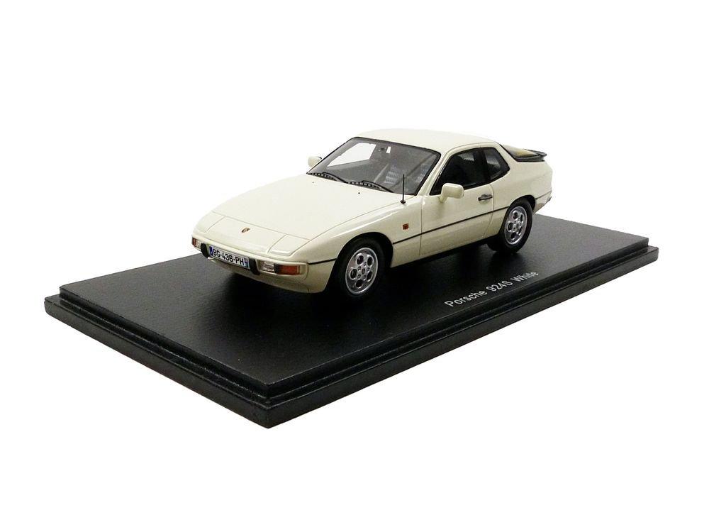 Spark–Modellino–Porsche 924S–1988–Scala 1/43, S4460, Bianco