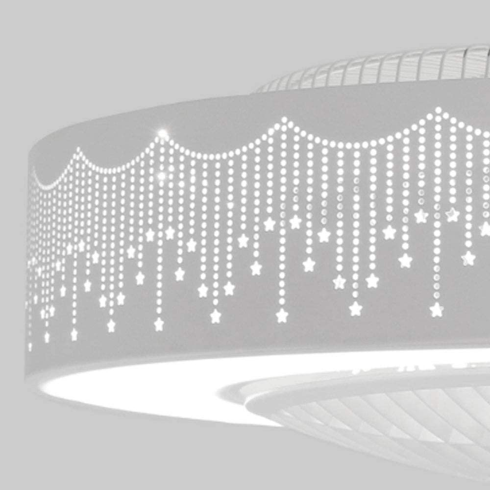 Deckenventilator Lampe Mit Fernbedienung Dimmbar Leiser L/üfter Kronleuchtert LED Fan Licht Deckenventilator Mit Beleuchtung Moderne Wohnzimmer Schlafzimmer Kinderzimmer Fan Beleuchtung Dekoration