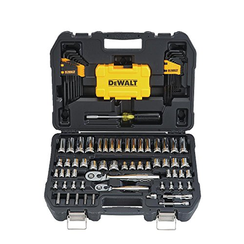 DEWALT Mechanics Tools Kit and Socket Set, 108-Piece (DWMT73801) (Set Tools Large)