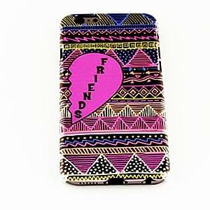 MOFY-Encanta la moda modelo de las rayas del coraz-n TPU suave para el iphone 6