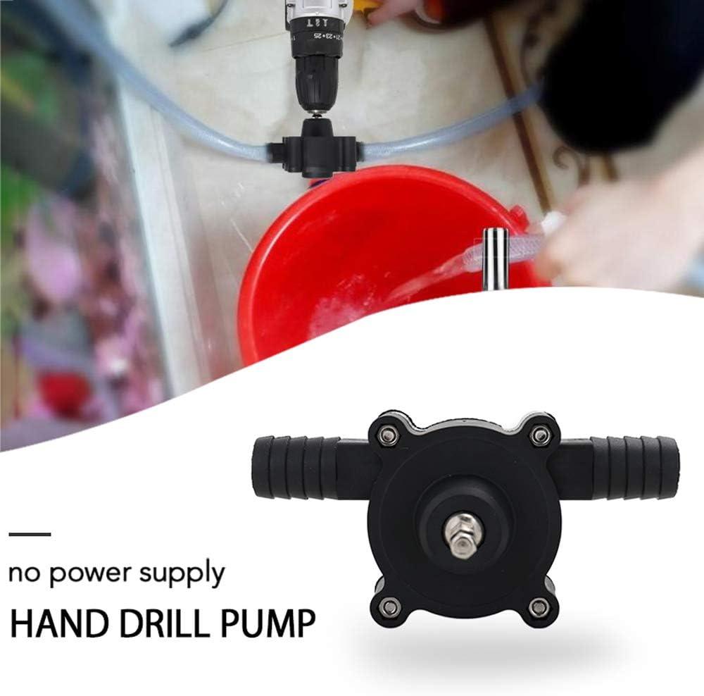 Drtomyl Portable Electric Drill Pump Self Priming Transfer Pumps Oil Fluid Water Pump