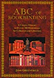 ABC of Bookbinding, Jane Greenfield, 1884718418