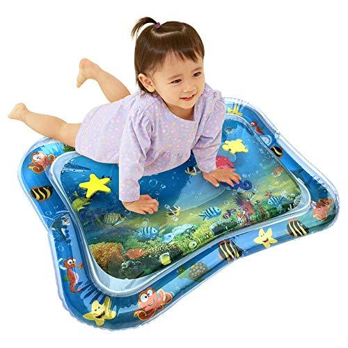 Dreameryoly Wassermatte, aufblasbare Patted-Pad-Bauchzeitspielmatten für Baby-Premium-Wasserspielmatte für Säuglinge und…