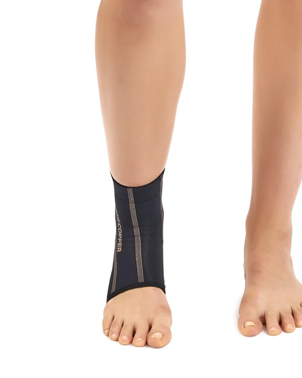 Tommie Copper Women's Performance Ankle Sleeves 2.0, Small, Black