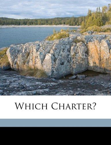 Which charter? pdf epub