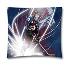 NHL Teams Throw Pillow Covers, Sport Fans Throw Pillow Cases For Sports Fans, Colorado Avalanche Square Decorative Pillow Covers, Pure Cotton, Size: 18x18 Inches (45x45 cm)