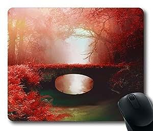 Design Love Bridge Mouse Pad Desktop Laptop Mousepads Comfortable Office Mouse Pad Mat Cute Gaming Mouse Pad