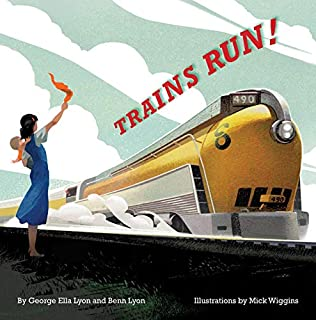Book Cover: Trains Run!