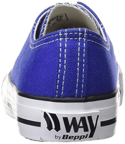 Canvas Femme de Chaussures Beppi Bleu Fitness Blue Shoe Blue H4aqqwxA