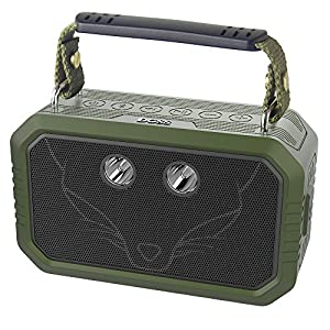 DOSS Wireless Portable Bluetooth Speakers with Waterproof IPX6, 20W Stereo Sound and Bold Bass, 12H Playtime, Durable for iPhone, Samsung, Tablet, Echo dot, Gift ideas - Green