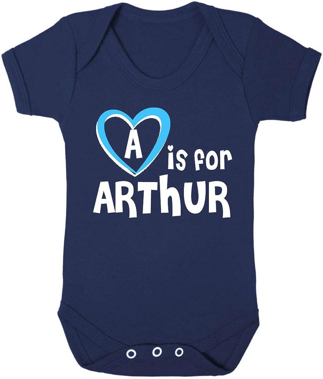Baby Called Arthur Gift A is for Arthur Baby Bodysuit Arthur Baby Gift