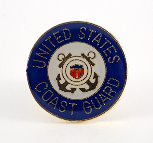 Coast Guard Insignia Logo Seal Military Patriotic Lapel Hat Pin PPM638 ()