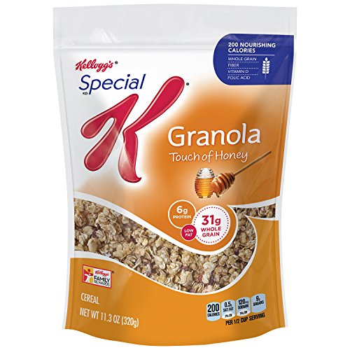 Low Fat Granola - Special K Low Fat Granola Cereal, 11.3 Ounce