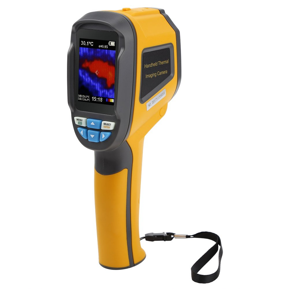 Koolertron Handheld Portable Infrared Thermal Imager & Visible Light Camera with IR Resolution 3600 Pixels/1024 Pixels Thermal Imager Camera (3600 Pixels)