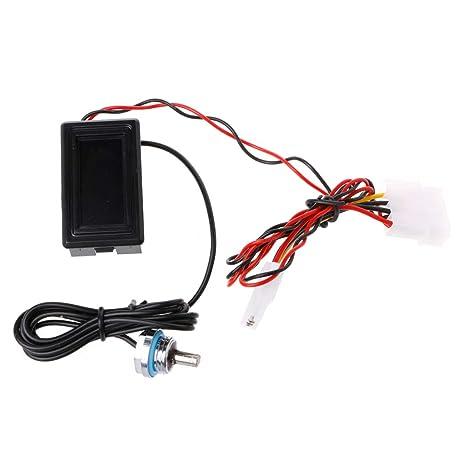 Fogun PC sistema de refrigeración de agua pantalla digital de termómetro medidor de temperatura