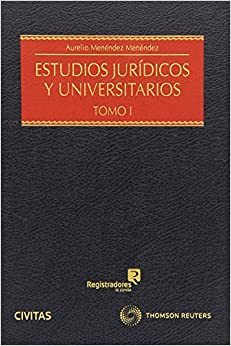Book ESTUDIOS JURIDICOS UNIVERSITARIOS DOS VOLUMENES