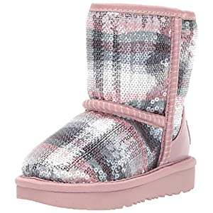 UGG Kids' Classic II Sequin Rainbow Boot