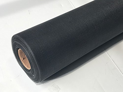 Fiberglass Insect Screen 24'' x 100ft Roll (Charcoal) by Metro Screenworks