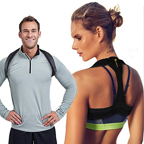 Back Posture Corrector for Women Men Kids, Back Brace,Clavicle Brace,Effective and Comfortable Posture Brace,The Elastic Design of The Back are More Comfortable and Convenient Than The Old Ones. by dobigthing
