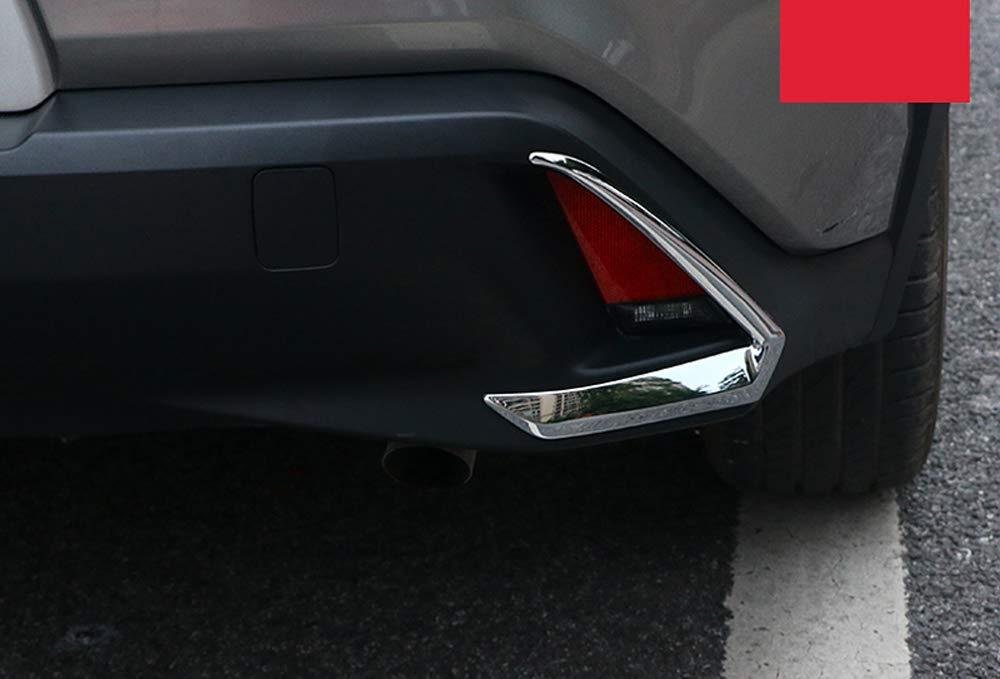 ZA10 UX 250h Car Rear Back Fog Light Lamp Cover Frame Trim 2PCS YUZHONGTIAN 2018-2020 for Lexus UX UX 200