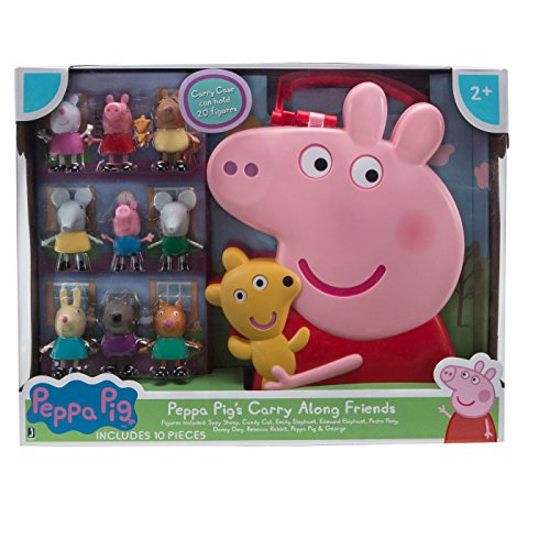 Peppa Pig Set de Figuas con Estuche
