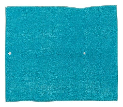 Kay Dee Linens (Kay Dee Designs A8922 Cafe Express Microfiber Countertop Drying Mat, Peacock)