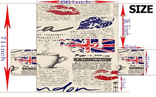 WYYWCY Símbolos de Londres con Elizabeth Tower (Big Ben) Asiento ...