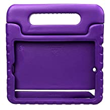 NEWSTYLE Apple iPad Mini Shockproof Case Light Weight Kids Case Super Protection Cover Handle Stand Case for Kids Children For Apple iPad Mini 3rd Gen (2014 Released) / iPad Mini 2 with Retina Display / iPad Mini (Purple)