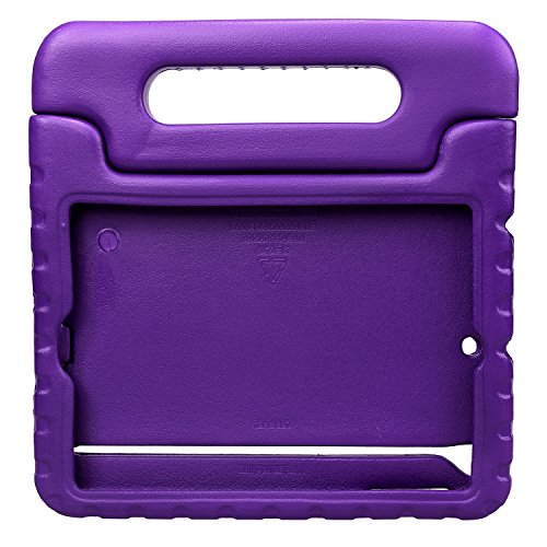 NEWSTYLE Shockproof Case with Built-in Handle Stand Cover for iPad Mini, iPad Mini 3rd Generation, iPad Mini 2 with Retina Display - Purple by NEWSTYLE