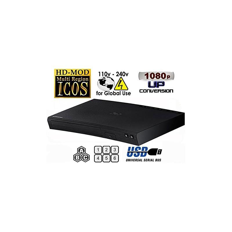 "NEW SAMSUNG BD-J5100 (Compact 12W"" x 2H"""