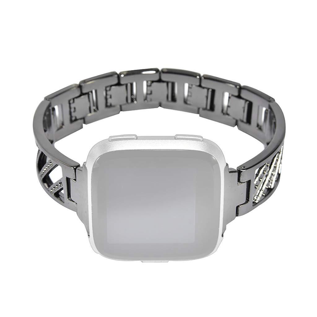 Glowjoy Pulsera Smartwatch Compatible con Fitbit Versa ...