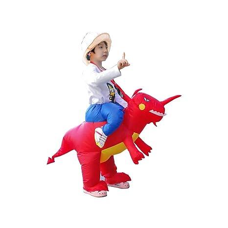 Deanyi - Disfraz Inflable de Dinosaurio Inflable para Halloween ...