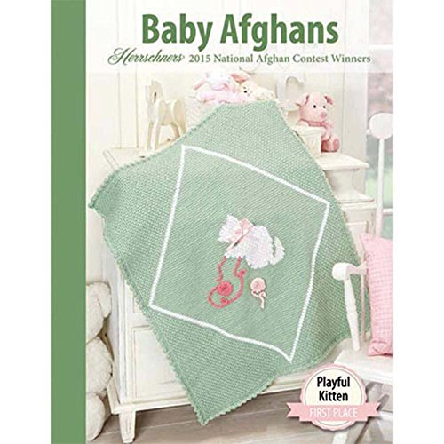 2015 Award-Winning Baby Afghans Crochet Book