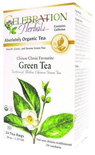 Celebration Herbals Green Tea Chinese Classic Organic by Celebration Herbals