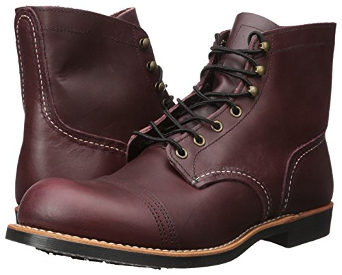 Image of the Red Wing Heritage Iron Ranger 6-Inch Boot, Oxblood Mesa, 10.5 D(M) US