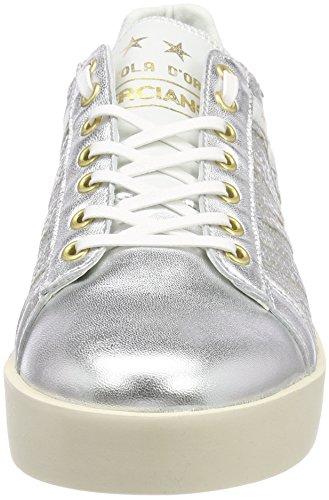 d'Oro Low Donne Silver Pantofola Argento Sneaker Lecce Pailette Donna zZ1UqB