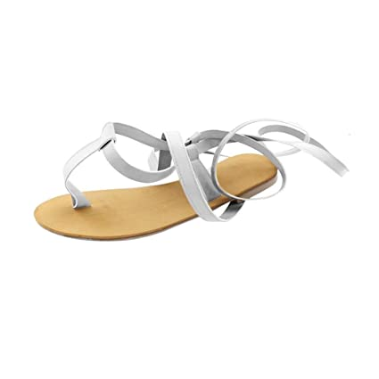 a2614ed1237bb Amazon.com: Peigen Women Sexy Straps Sandals, Lady Roman Wind Casual ...
