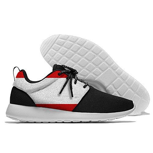 Yoigng Heren Vlag Van Oostenrijk Jogging Schoenen Sport Sneakers Casual Schoenen