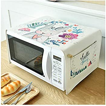 Toaster Cover/Microwave Oven Broiler Appliance Cover,Dust and Fingerprint Protection (Rabbit)