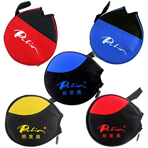 Three Palio Table Tennis Small Case Bat by Qinhuangdao Golden Palm Sports Goods Co., Ltd.