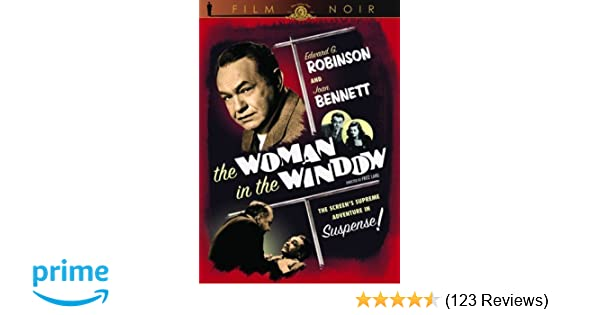 Amazon The Woman In The Window Mgm Film Noir Edward G