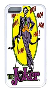 iPhone 5C Cases & Covers VUTTOO The Joker Posters Custom TPU Soft Case Cover Protector for iPhone 5C ¡§C White