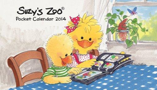 2014 Suzy's Zoo Pocket Calendar (4x7) (Suzys Calendar Zoo)