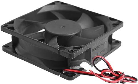 Kofun 8025 8025 - Ventilador para ordenador de sobremesa (12 V, 2 ...