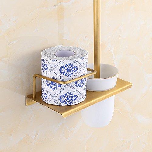 HYP-Full copper antique European toilet brush by HYP Bathroom supplies