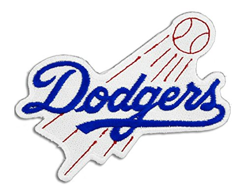 Dodgers Embroidered Sew/Iron On Patch 3.5