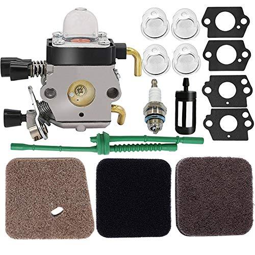 C1Q-S97 Carburetor - for STIHL FS38 FS45 FS46 FS55 KM55 HL45 FS45L FS45C FS46C FS55C FS55R FS55RC FS85 FS80R FS85R FS85T FS85RX String Trimmer Weed Eater, FS55 Carburetor,FS45 Carburetor,c1q-s186 Carb