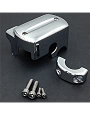 SMT-Front Brake Fluid Master Cylinder Cover Compatible With Yamaha V-Star 650 950 1100 1300 CHROME [B00RUEAQCQ]