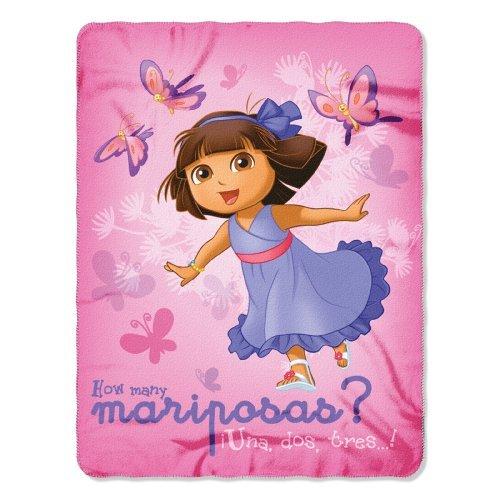 Purple Dora La Exploradora Manta – Dora La Exploradora Peluche Throw